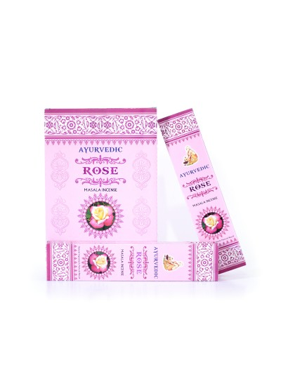 Incenso Ayurvedic - Rose -  15g - Original