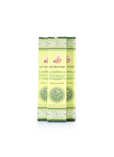 Incenso Ayurvedic - Patchouli -  15g - Original