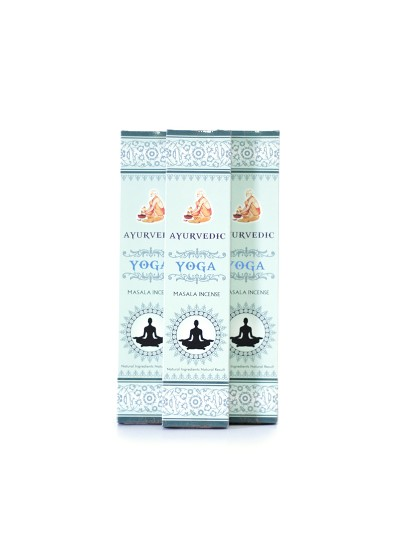 Incenso Ayurvedic - Yoga - 15g - Cx. 12 unds 15g
