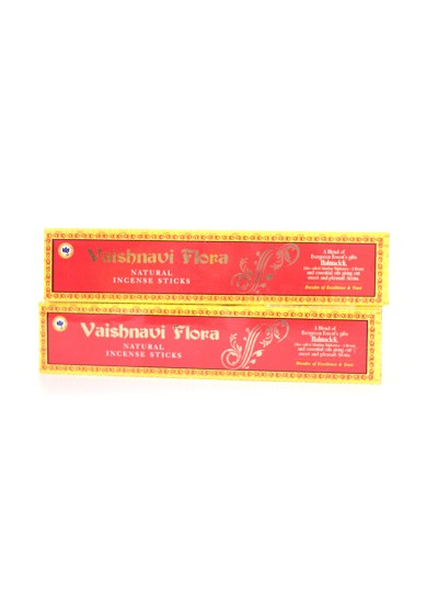 Incenso Vaishnavi Flora -  15g - Original