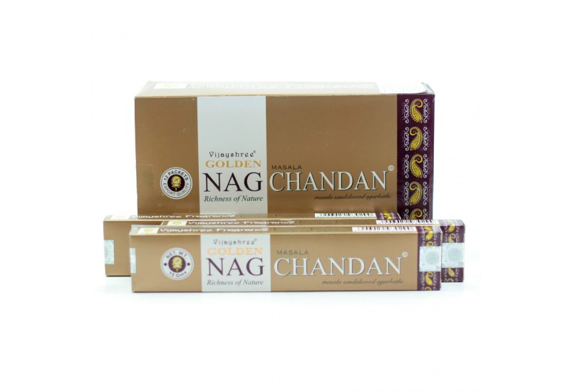 Incenso Vijayshree - Nag Chandan - 15g - Cx. 12 unds 15g