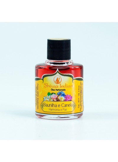 Baunilha e Canela - Essência Shivas Indian- 9ml