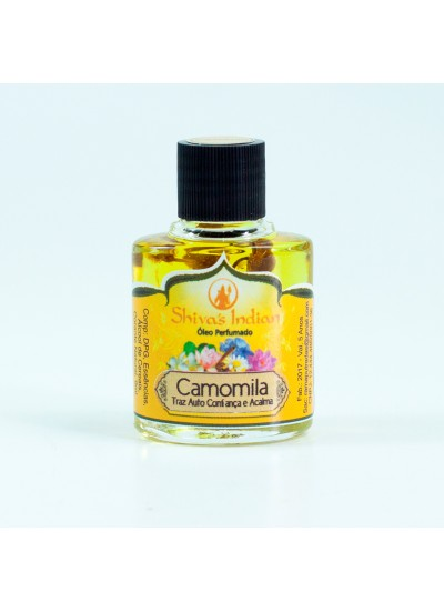 Camomila - Essência Shivas Indian- 9ml