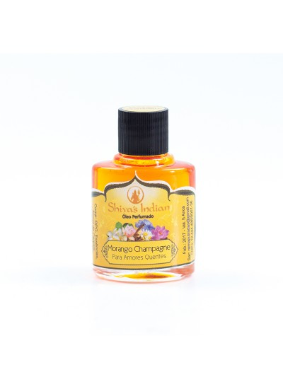 Morango com Champagne - Essência Shivas Indian - 9ml
