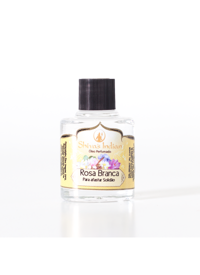 Rosa Branca - Essência Shivas Indian - 9ml