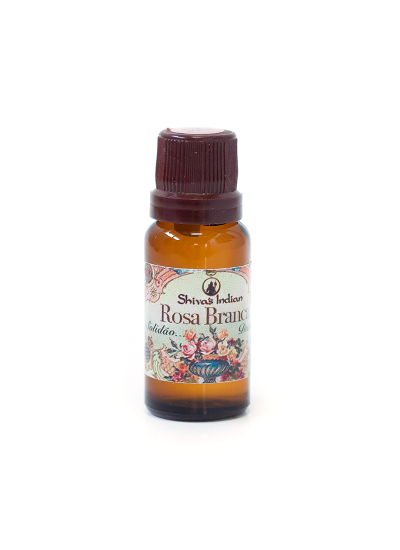 Rosa Branca - Essencia Shivas Indian Vintage - 15ml